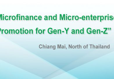 Microfinance and Micro-enterprise Promotion for Gen-Y and Gen-Z Chiang Mai