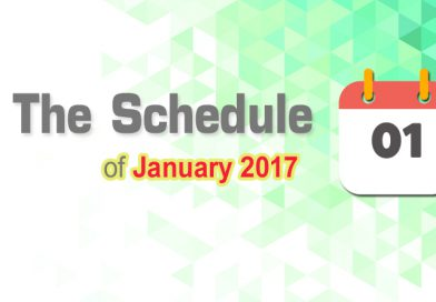 The Schedule of January 2017